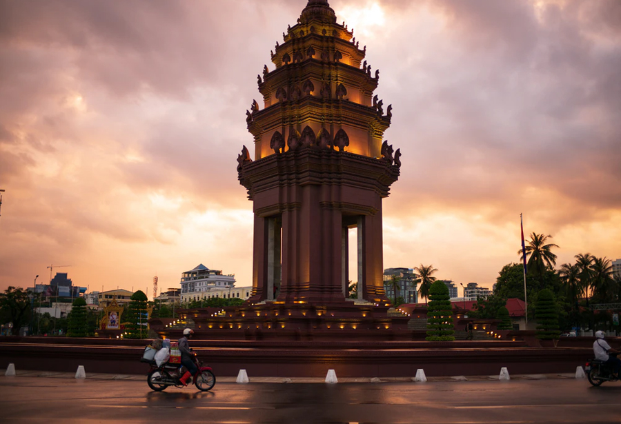 Phnom Penh, Cambodia, one of the top places in Southeast Asia