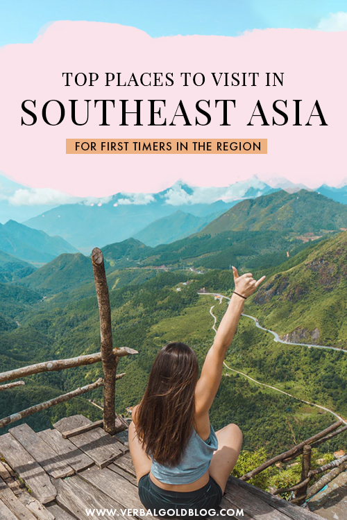 Wondering where to go in Southeast Asia? If it's your first time traveling the region, here are the tops places and destinations in Southeast Asia for first time visitors! #Asia