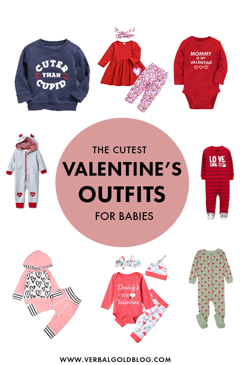 The Cutest Valentine's Day Outfits For Babies
