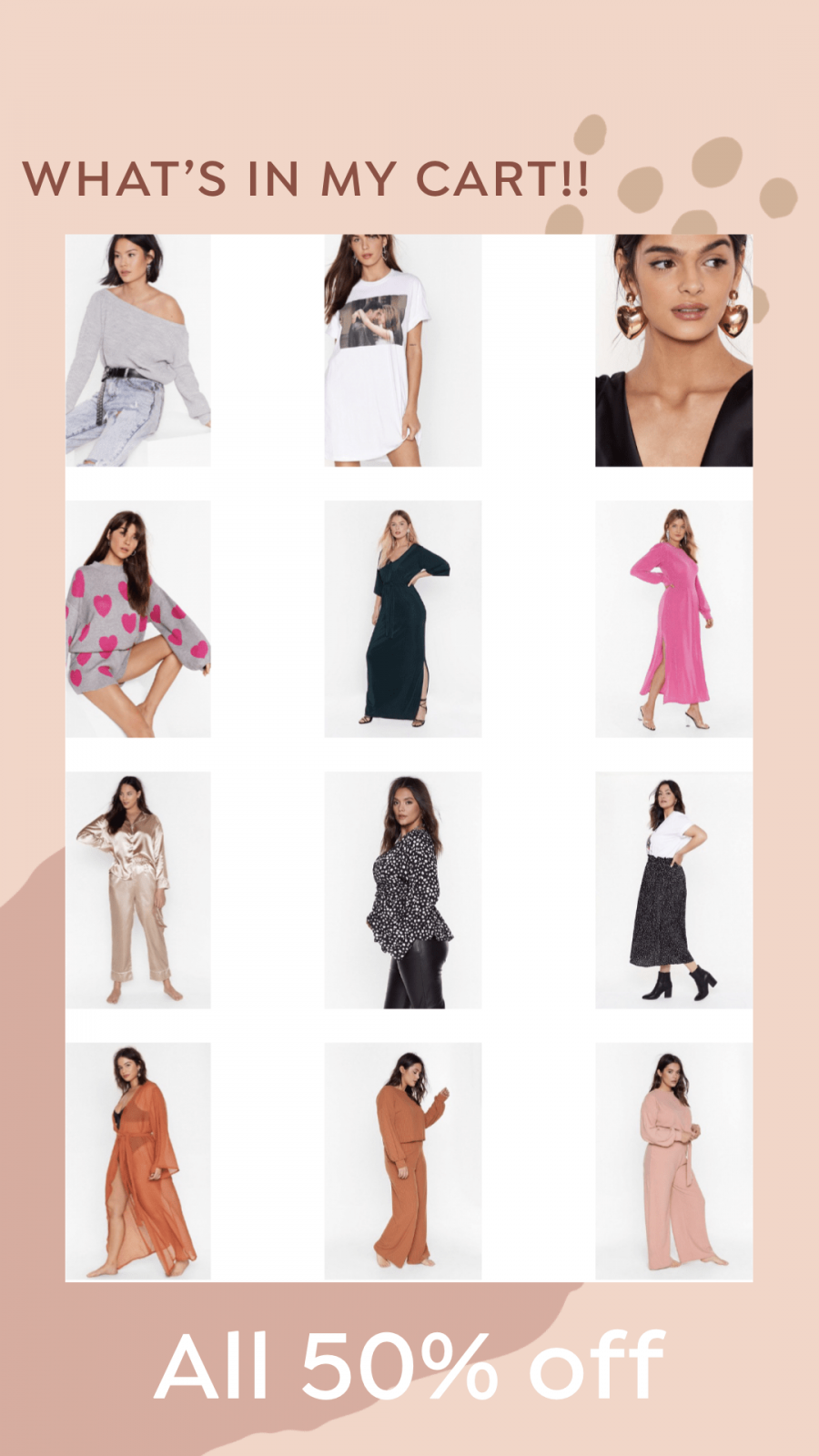 What I Bought at the Nasty Gal Sale – all 50% off
