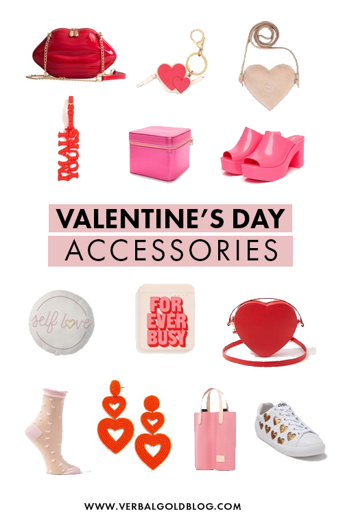 Looking for the perfect outfit for Valentine's Day? We've got you! On this post, we share our favorite valentine's day themed accessories and outfits to inspire you to dress the best on this February 14th! #Valentines