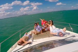 yacht life miami