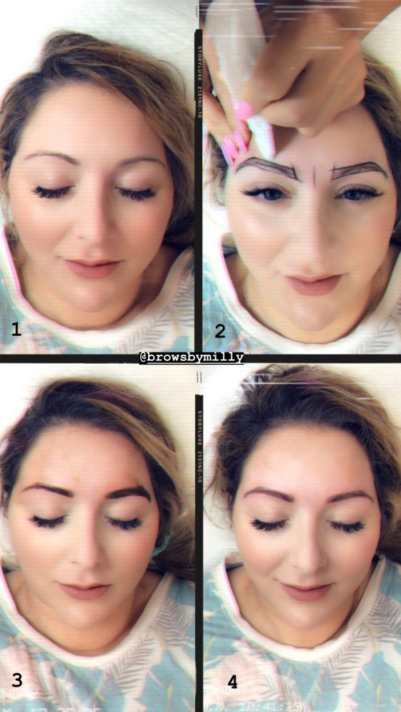 How To Get Perfect Eyebrows Browsonfleek The Truth Behind Microblading My Before And Afters Verbal Gold Blog