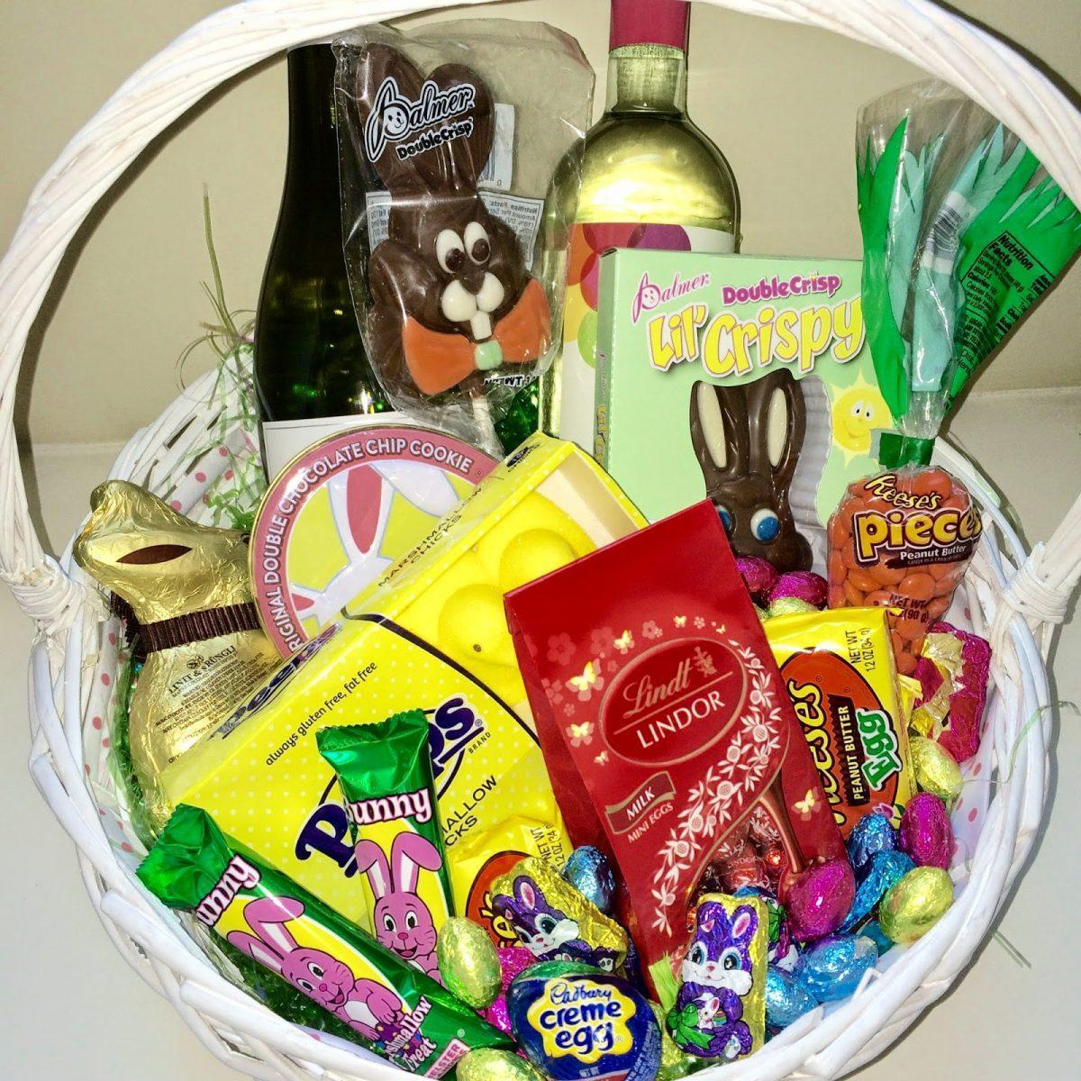 Adult easter baskets that are 18 carrot gold verbal gold blog my other host gift aeb go to is an edible arrangement or a nice potted plant yes i love flowers but i feel like a vase of potted tulips goes a negle Choice Image