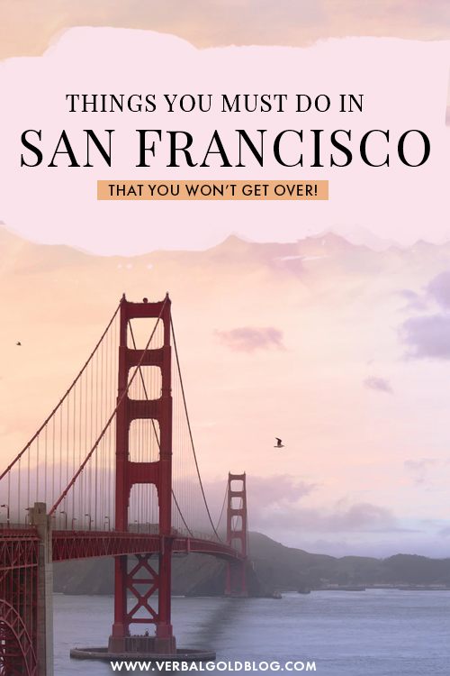 Wondering what to do in San Francisco, California? If you're currently planning a trip to one of the coolest cities in the USA, here are 21 things to do in San Fransisco that will make you fall in love with the city! #USA #California #SanFrancisco