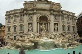 Trevi Fountain Rome Italy Travel Blogger