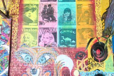 travel blog wall murals durham north carolina