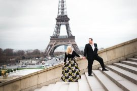 eloped wedding engagement paris france travel blogger