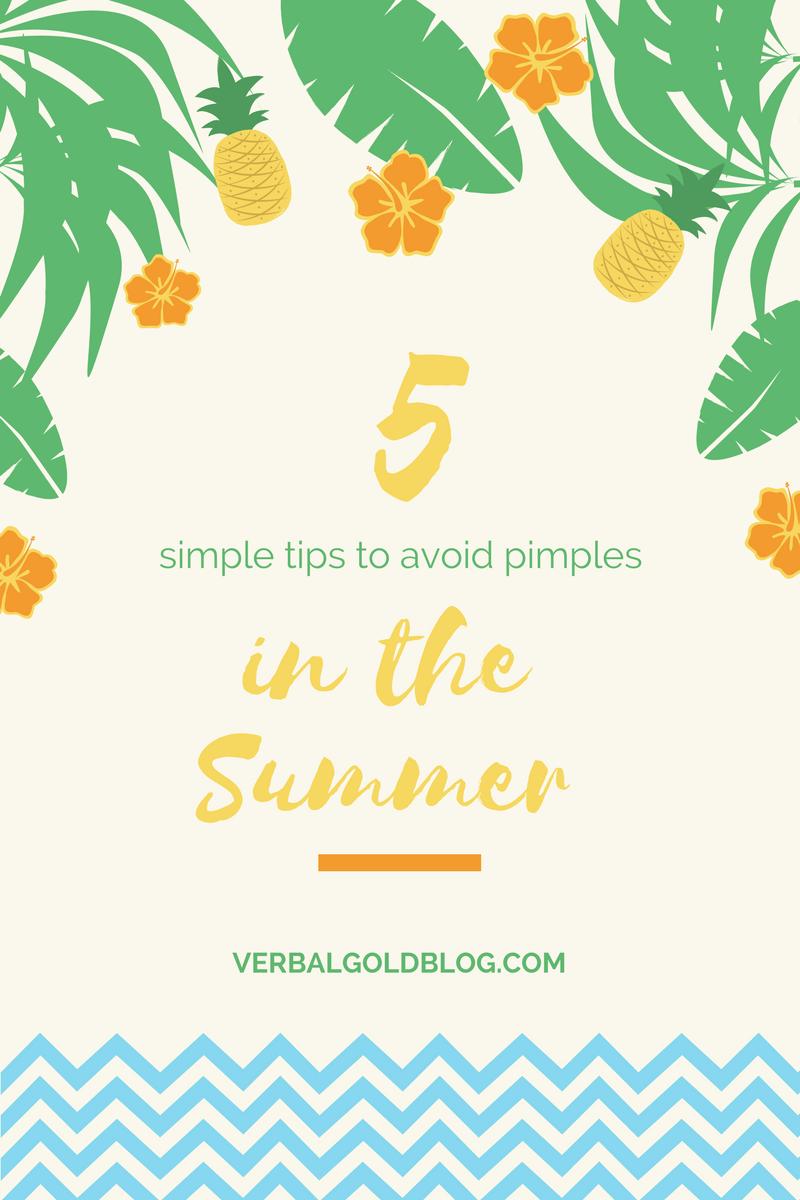 summer skin care