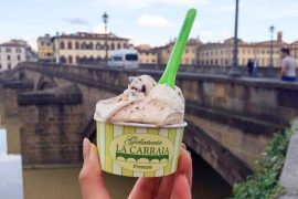 florence italy travel blogger food blogger gelato shops in florence italy