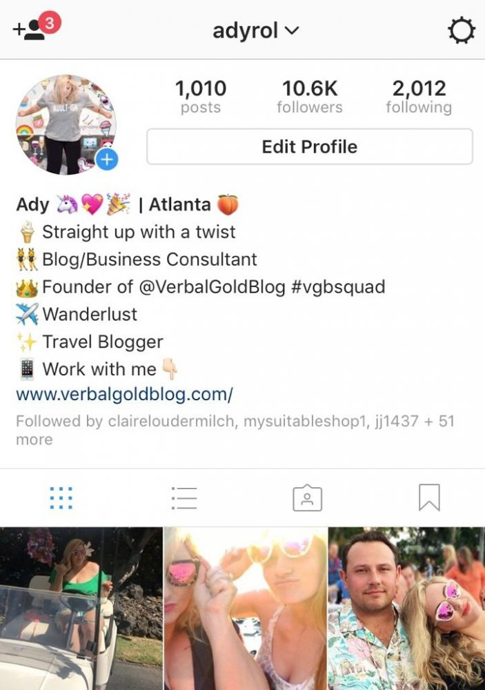 How to adjust and space out your instagram bio what you