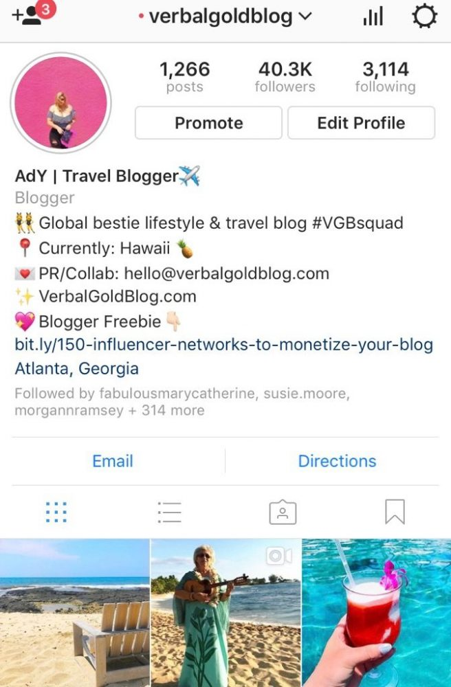 How to adjust and space out your instagram bio what you should instagram verbal gold blog instagram verbal gold blog ccuart