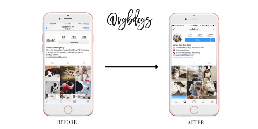 how to create spaces in instagram bio