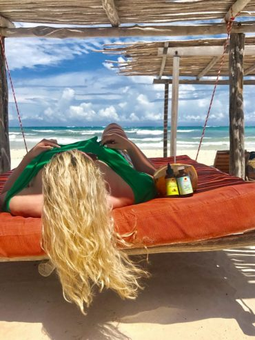 hair skin care recover from travel blogger beauty