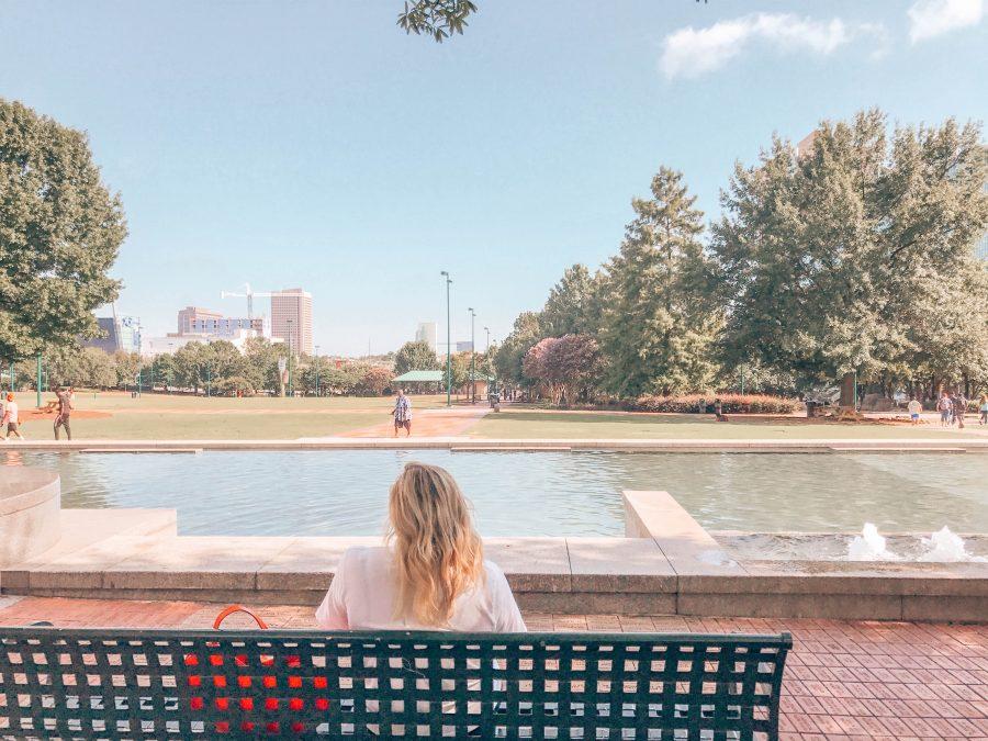 downtown Atlanta centennial district travel blog