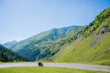 motorcycle road trip through Europe travel blogger