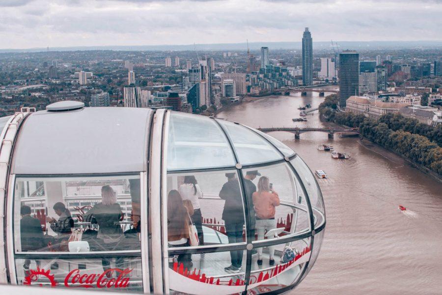London travel blogger London eye