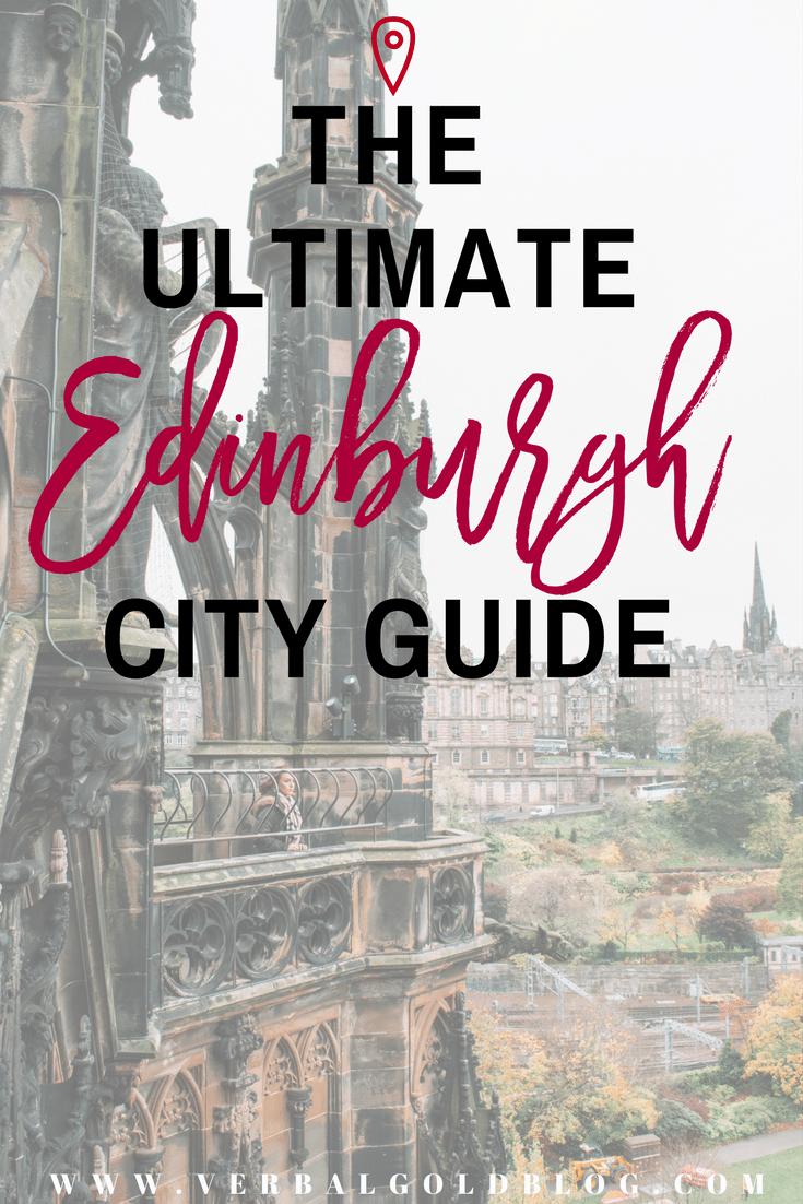 Edinburgh city guide Scotland travel blogger