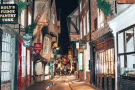 York shopping the shambles England