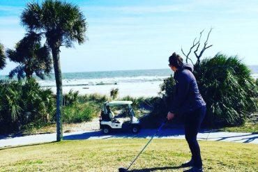 palmetto dunes golf Hilton head island South Carolina travel blogger
