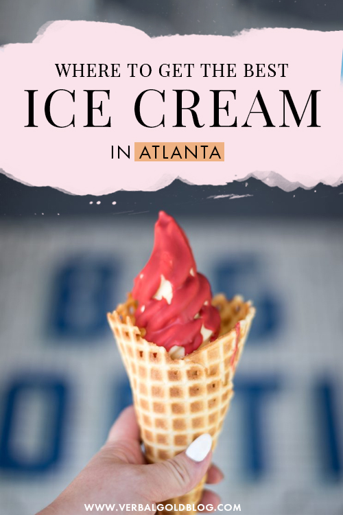 Where to get the best ice cream in Atlanta