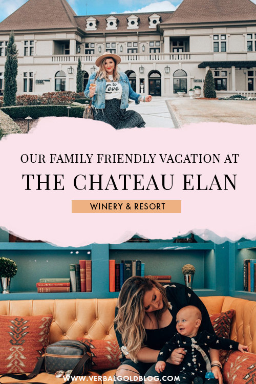 Our Family Friendly Vacation at The Chateau Elan Winery & Resort