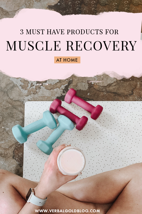 3 must have products for at home muscle recovery