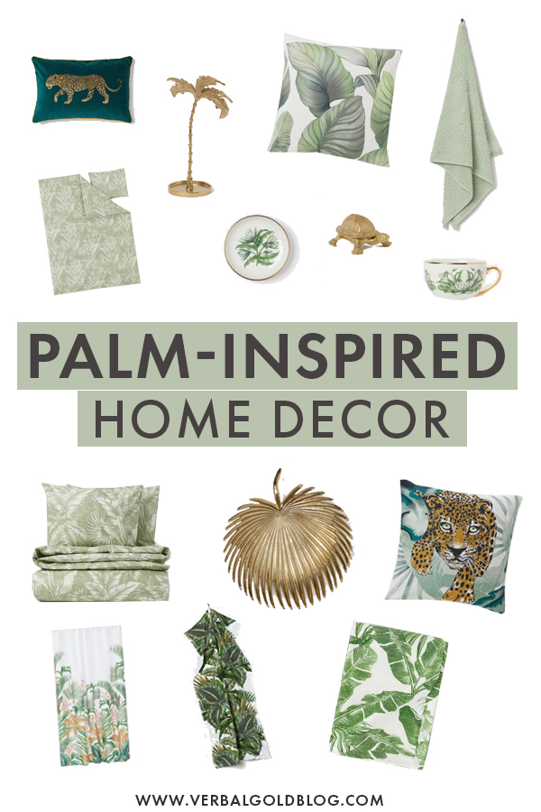 Cure Your Travel Fever With This Palm-Inspired Home Decor!