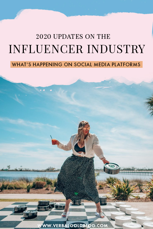 Influencer Industry Updates + What's Happening Between Social Media Platforms You Should Know