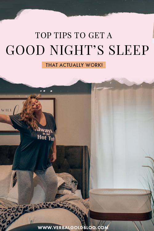 14 Tips To Get a Good Night's Sleep