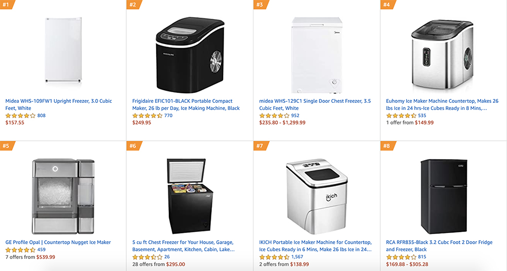Amazon Best Sellers in Home, Appliances, and Garden