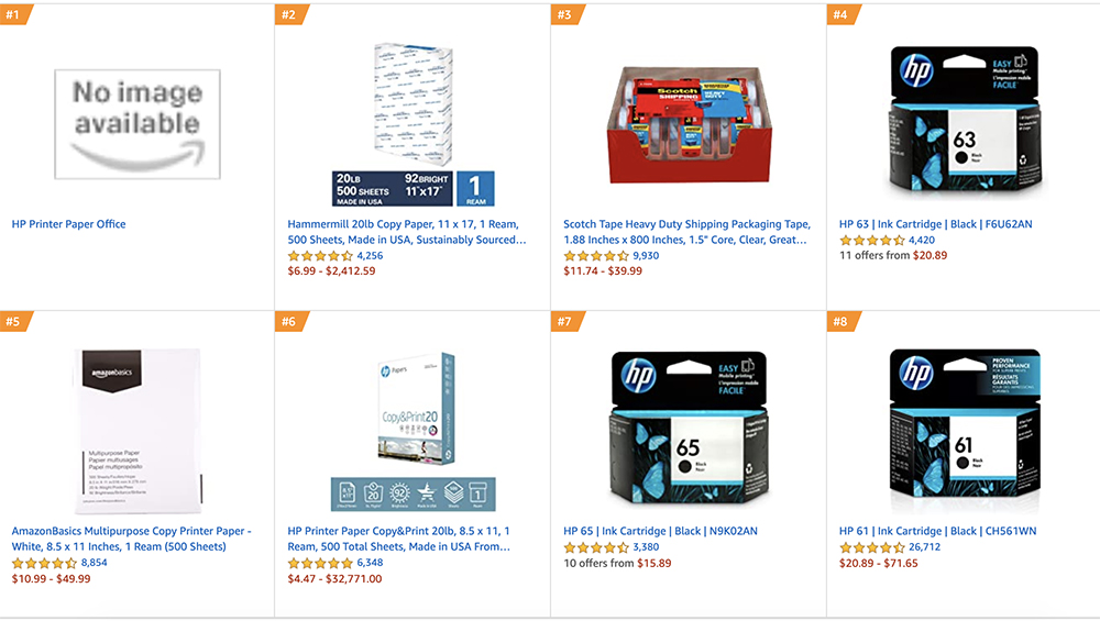 Amazon Best Sellers in Office Products