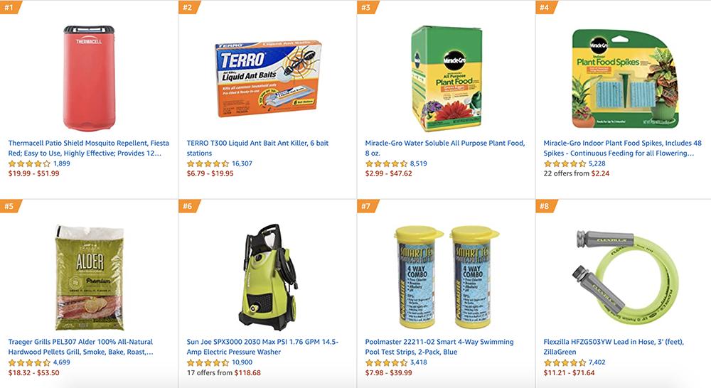 Amazon Best Sellers in Patio, Lawn & Garden