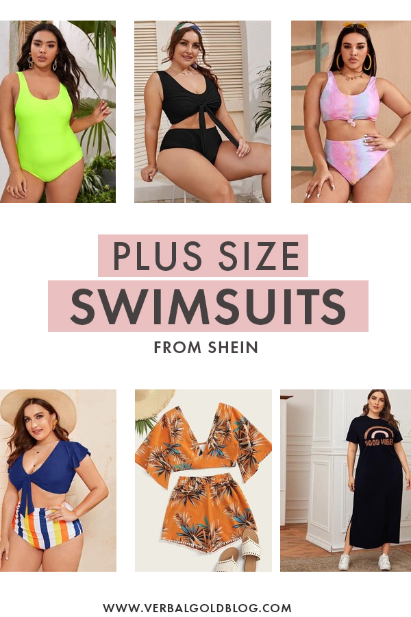 Best Plus Size Swimsuits from Shein
