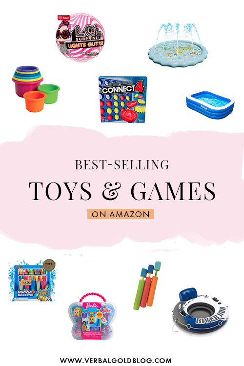 Amazon Bestsellers in Toys & Games
