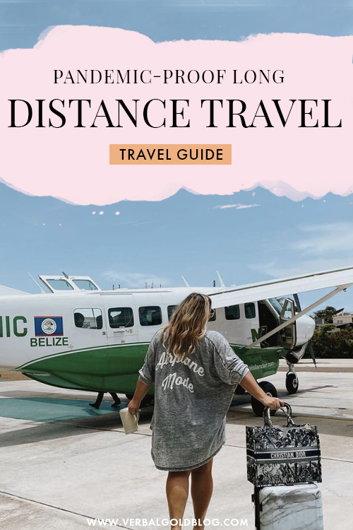 Planning a post-pandemic trip? If you're ready to travel but still scared about the situation, here are my top tips for a safe and healthy long distance trip after the pandemic.