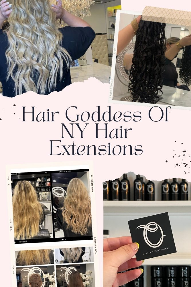 Hair Goddess of NY Hair Extensions: Why they're different, better for your hair, and what to expect