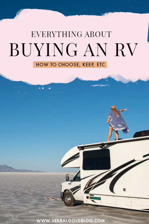 I bought an RV!